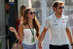 Jessica Michibata, girlfriend of Jenson Button