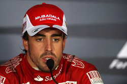 Post-race press conference: race winner Fernando Alonso, Scuderia Ferrari