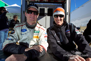 Mark Wilkins and Burt Frisselle