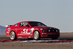 #51 Roush Performance Ford Mustang GT: Andrew Carbonell, Felix Serralles