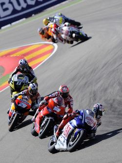 Jorge Lorenzo, Fiat Yamaha Team and Nicky Hayden, Ducati Marlboro Team