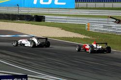 Carlos Munoz, Mücke Motorsport Dallara F308 Mercedes, Jim Pla, ART Grand Prix Dallara F308 Mercedes