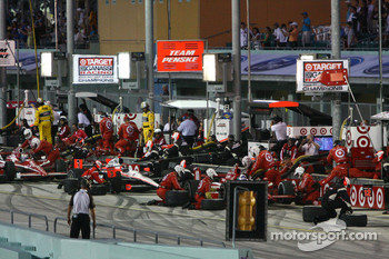 Action in the pits