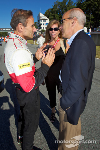 David Murry and ALMS President Scott Atherton
