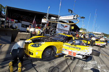 #4 Corvette Racing Chevrolet Corvette ZR1: Oliver Gavin, Jan Magnussen, Emmanuel Collard