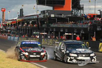Jonathon Webb, David Russell, #19 Dick Johnson Racing, Rick Kelly, Owen Kelly, #15 Jack Daniel's Racing