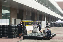 Williams F1 Team, Bridgestone tyres