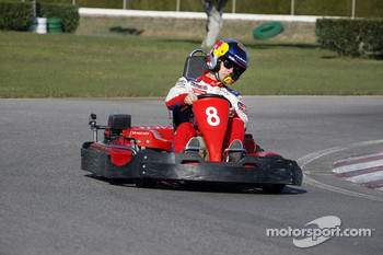 Rally Catalunya karting race: winner Sbastien Loeb