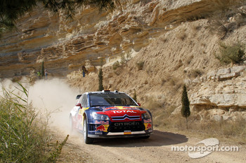 Daniel Sordo and Diego Vallejo, Citroën C4 Citroën Total World Rally Team