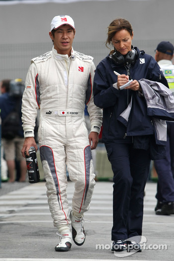 Kamui Kobayashi, BMW Sauber F1 Team