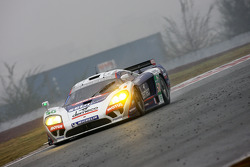 #50 Larbre Competition Saleen S7-R: Patrick Bornhauser, Pedro Lamy, Laurent Groppi