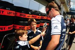 Rubens Barrichello, Williams F1 Team and his sons