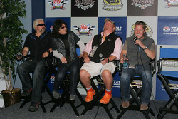 Guy Fieri, Kelly Hansen, Mario Batali and Tim Love