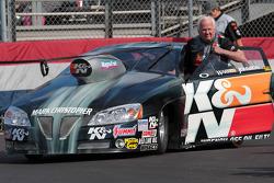 Warren Johnson in his Grant Motorsports/K&N Pontiac GXP
