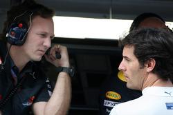 Christian Horner, Red Bull Racing, Sporting Director, Mark Webber, Red Bull Racing