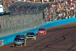 Carl Edwards, Roush Fenway Racing Ford takes the checkered flag