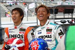 #6 Eneos SC430: Daisuke Ito, #1 Petronas Tom's SC430: Juichi Wakisaka