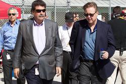 NASCAR-CUP: NASCAR President Mike Helton and NASCAR CEO and Chairman Brian France