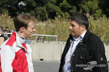 Mattias Ekstrm, Audi Sport Team Abt Audi A4 DTM with Michael Kleinert Hankook Tyres