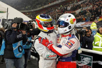 Race of Champions winner Filipe Albuquerque, second place Sbastien Loeb