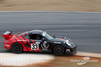 #33 The Lunatics 2010 Porsche Cayman Black/Re: Lee Davis, Ryan Eversley, Keith Carroll