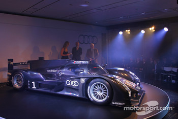 The 2011 Audi R18 TDI with Dr. Wolfgang Ullrich