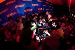 NASCAR Nationwide Series driver Danica Patrick, media attention