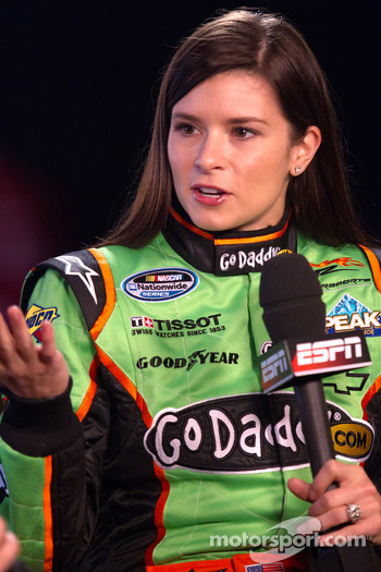NASCAR Nationwide Series driver Danica Patrick