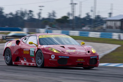 #062 Risi Competizione Ferrari 430 GT2: Jaime Melo, Toni Vilander
