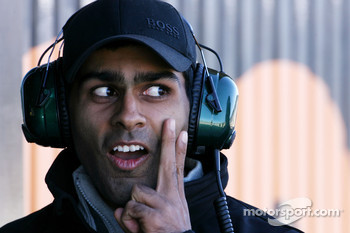 Karun Chandok, Team Lotus F1