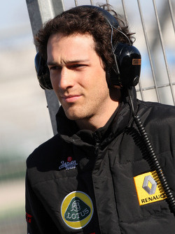 Bruno Senna Lotus Renault GP Test Driver