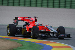 Timo Glock, Marussia Virgin Racing in last years car