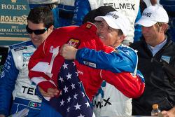 DP victory lane: class and overall winners Scott Pruett and Graham Rahal