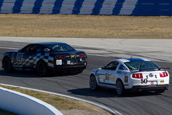 #00 CKS Autosport Camaro GS.R: Eric Curran, Ashley McCalmont, #50 Finlay Motorsports Mustang Boss 302R: Steve Cameron, Rob Finlay