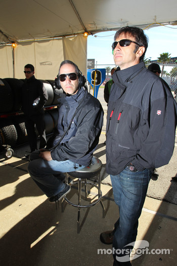 Joao Barbosa and Christian Fittipaldi