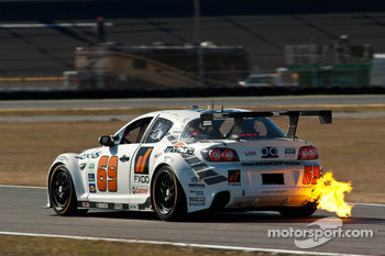 #69 SpeedSource Mazda RX-8:Jeff Segal, Emil Assentato