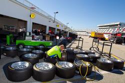 Krohn Racing team member at work