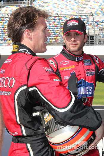 Alex Gurney and Jimmie Johnson