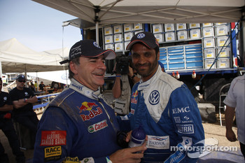 Carlos Sainz and Nasser Al Attiyah