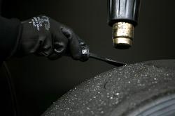 Pirelli tyres, technician