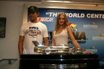 Rosie Huntington-Whiteley, Josh Duhamel at Transformers 3