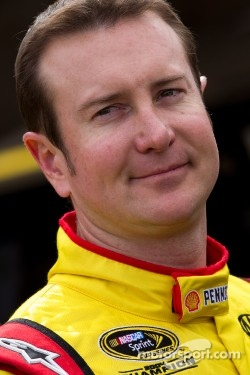 NASCAR driver, Kurt Busch qualifies 12th