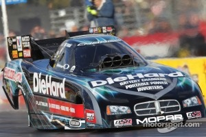 Matt Hagan in his Sears Diehard Dodge Charger