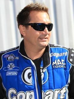 Top Fuel Driver Brandon Bernstein