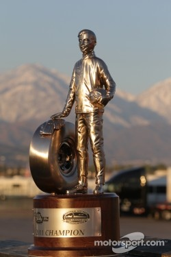 Wally - the NHRA winners' trophy