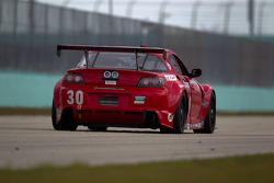 #30 Racers Edge Motorsports Mazda RX-8: Jan Heylen, Ross Smith