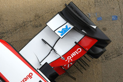 Sauber F1 Team front wing detail