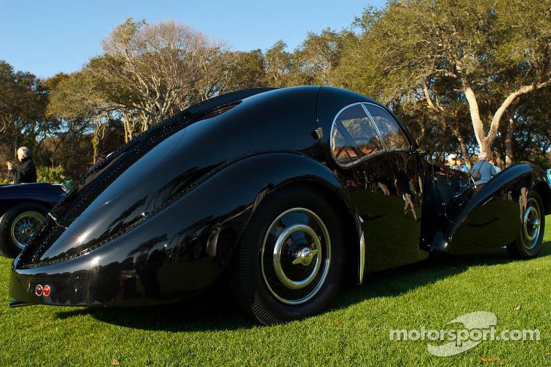 197 1936 Bugatti 57sc Atlantic Replica Car North
