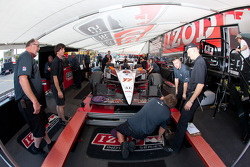 The car of Alex Tagliani, Sam Schmidt Motorsports at technical inspection