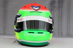 Helmet of Sakon Yamamoto, test driver, Virgin F1 Team